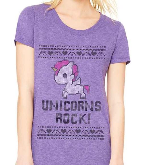 Picture of Unicorns Rock! - Womens