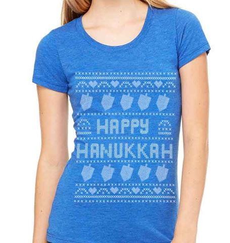 Picture of Happy Hanukkah - Womens