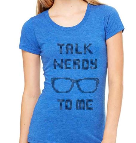 Picture of Talk Nerdy to Me - Womens